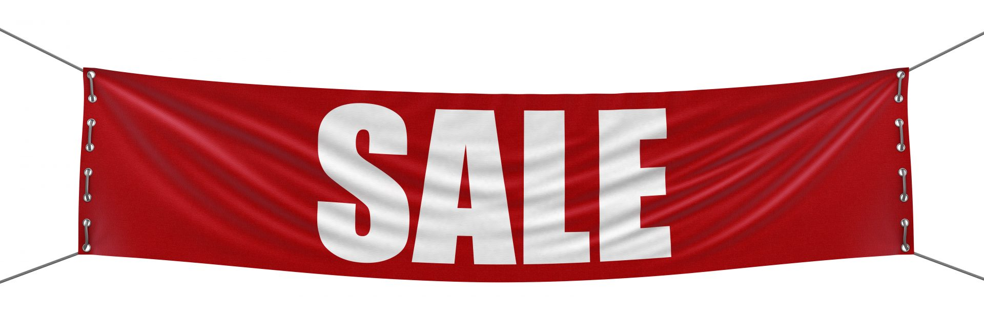 Sale Banner (clipping path included)