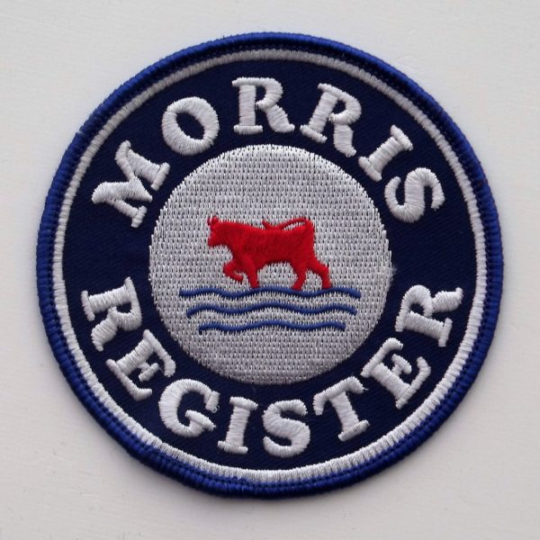 Morris Register - Cloth Badge