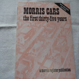 Morris Register - Morris First 35 Years
