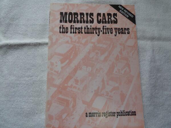 Morris Register - Morris First 35 Years