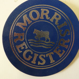 Morris Register - Morris Register Cork Coaster
