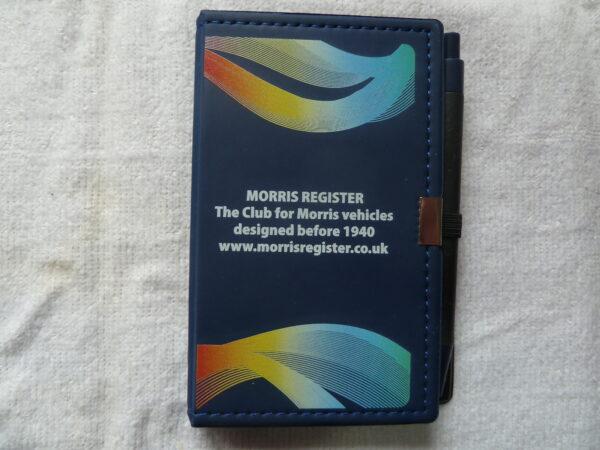 Morris Register - Morris Register Pocket Notebook with Pen