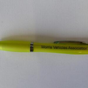 Morris Register - Morris Vehicle Association Pen