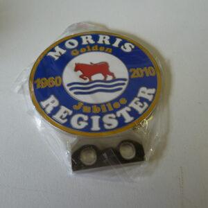 Morris Register Jubilee Car Badge