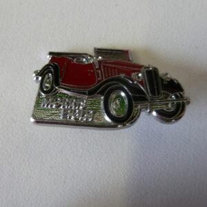 Morris Register - Morris Eight Car Lapel Badge