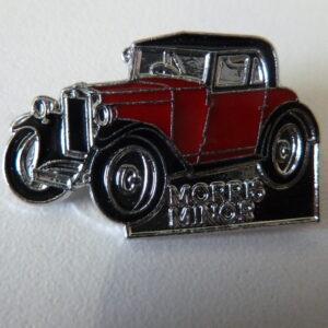 Morris Register - Morris Minor Car Lapel Badge